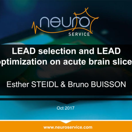 MEA recordings for LEAD selection and optimization