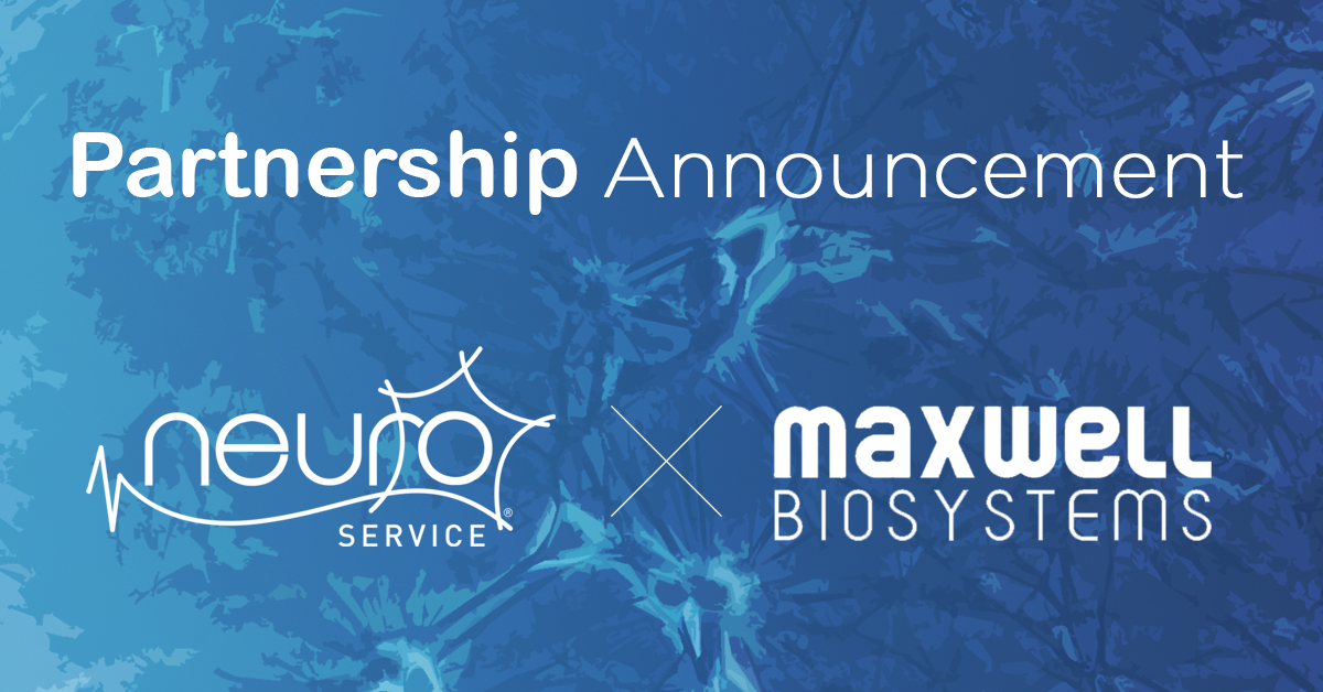 Neuroservice & MaxWell Biosystems announce strategic partnership