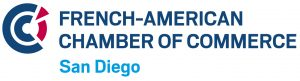 Logotype of french american chamber of commerce of San Diego